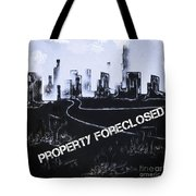 City For Sale Tote Bag