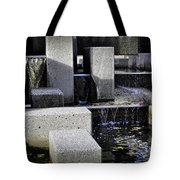 City Fountain Tote Bag