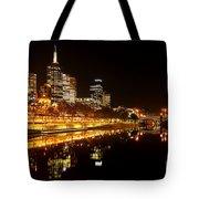 City Glow Tote Bag