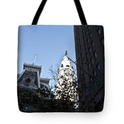 City Hall At Market Street Tote Bag