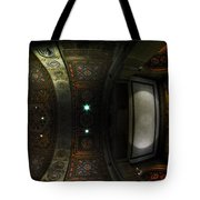 City Hall Ceiling Talents Diversified Find Vent In Myriad Form Tote Bag