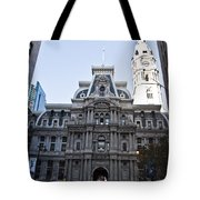 City Hall From Market Street Tote Bag
