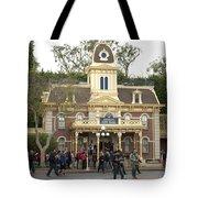 City Hall Main Street Disneyland Tote Bag