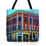 City - Hannibal Missouri - Mark Twain- Luther Fine Art Tote Bag