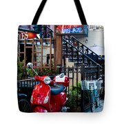 City Jazz Tote Bag
