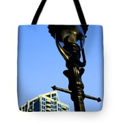 City Lamp Post Tote Bag