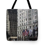 City Life - New York City Tote Bag