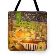City Light Star Light Tote Bag