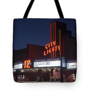 City Lights After Dark Tote Bag