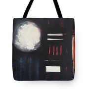 City Lights After Rain Tote Bag