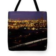 City Lights At Night Tote Bag