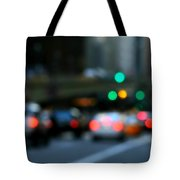 City Lights Tote Bag by Diana Angstadt