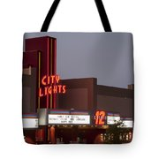 City Lights Marquee Tote Bag