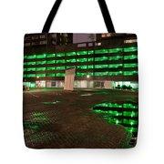 City Lights Urban Abstract Tote Bag