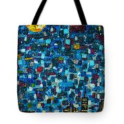 City Mosaic Tote Bag