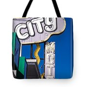 City Motel Las Vegas Tote Bag