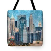 City - Ny - A Touch Of The City Tote Bag