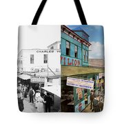 City - Ny - The Bowery 1900 - Side By Side Tote Bag