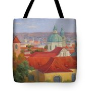 City Of A Thousand Spires Tote Bag
