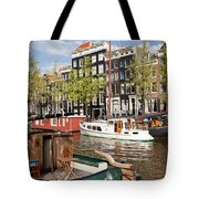 City Of Amsterdam Tote Bag