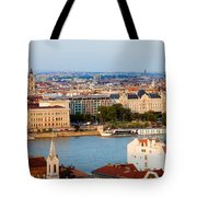 City Of Budapest Cityscape Tote Bag
