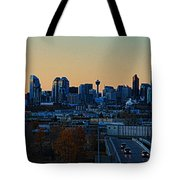 City Of Calgary Tote Bag