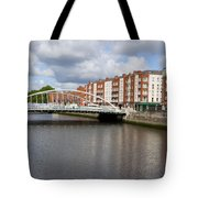 City Of Dublin In Ireland Tote Bag