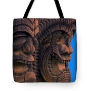City Of Refuge Tiki Gods Tote Bag