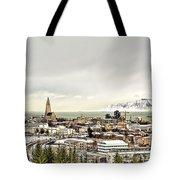 City Of Reykjavik  Tote Bag