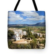 City Of Ronda In Spain Tote Bag