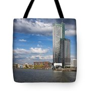 City Of Rotterdam In Netherlands Tote Bag