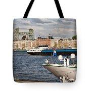 City Of Rotterdam Urban Scenery Tote Bag