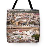City Of Seville Cityscape In Spain Tote Bag