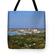 City Of St Augustine Florida Tote Bag