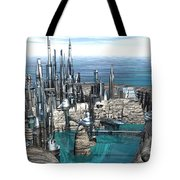 City Of The Future Tote Bag