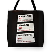 City Of Westminster Tote Bag