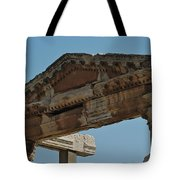 City Of Wood Tote Bag