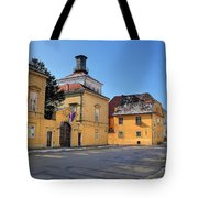 City Of Zagreb Historic Upper Town Tote Bag