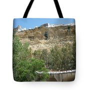City On A Cliff Tote Bag