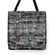 City Park City Art Tote Bag
