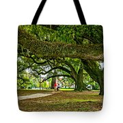 City Park Stroll 2 Tote Bag