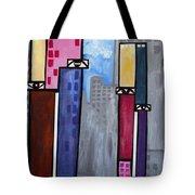 City People Tote Bag