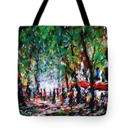 City Promenade Tote Bag