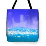 City Rain Tote Bag
