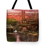 City - Richmond Va - After The Fighting Stopped - 1865 Tote Bag