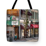 City - Roanoke Va - Down One Fine Street  Tote Bag by Mike Savad