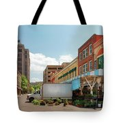 City - Roanoke Va - The City Market Tote Bag