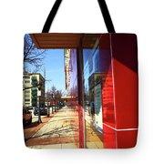 City Sidewalk Tote Bag