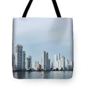 City Skyline, Castillogrande Tote Bag
