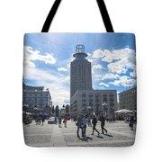 City Square In Stockholm Tote Bag